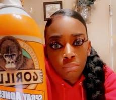 Mujer que se puso Gorilla Glue en el cabello viaja a Los Ángeles para ser operada