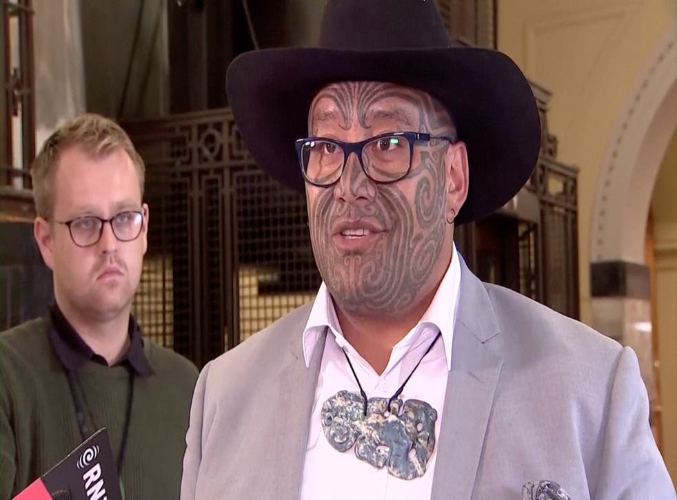 <p>Rawiri Waititi was asked to leave parliament on Tuesday</p>