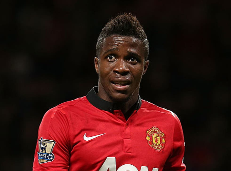 <p>Wilfried Zaha claims he was 'set up to fail' at Manchester United</p>