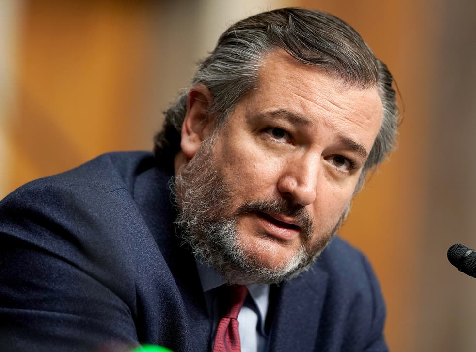 US Senator Ted Cruz questions nominee for United Nations Ambassador Linda Thomas-Greenfield