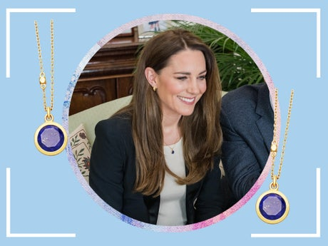 The Duchess of Cambridge wears this surprisingly affordable gemstone necklace: Here's where to buy it