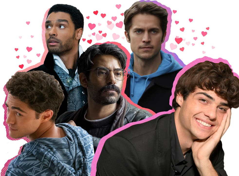 From left to right: Netflix crushes Darren Barnet, Regé-Jean Page, Rahul Kohli, Lucas Bravo and Noah Centineo
