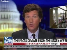 Tucker Carlson condemned for bizarre comparison between George Floyd's death, BLM and Capitol riot