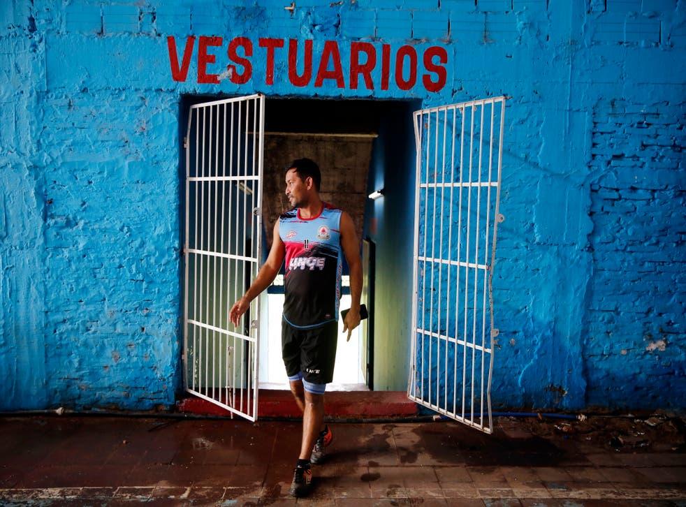 Paraguay Soccer Footballers
