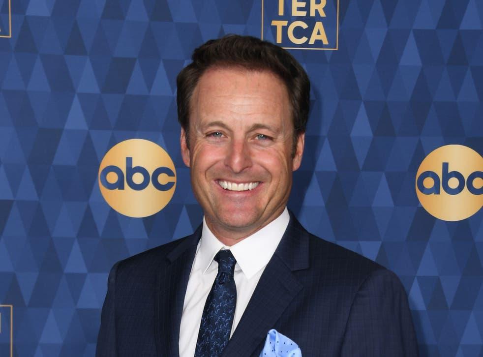 Chris Harrison at a press tour on 8 January 2020 in Pasadena, California