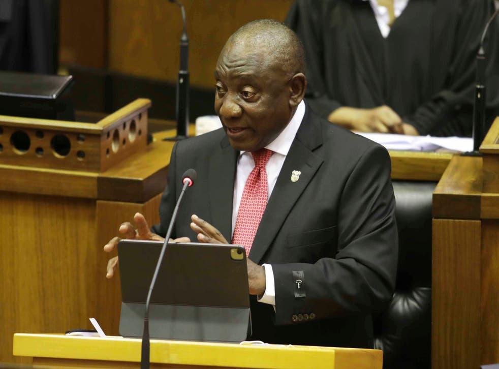 South Africa Ramaphosa Address