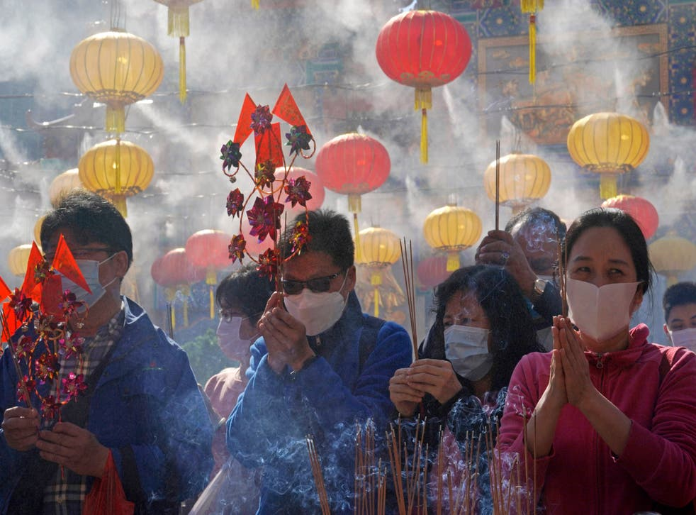 APTOPIX Hong Kong Lunar New Year