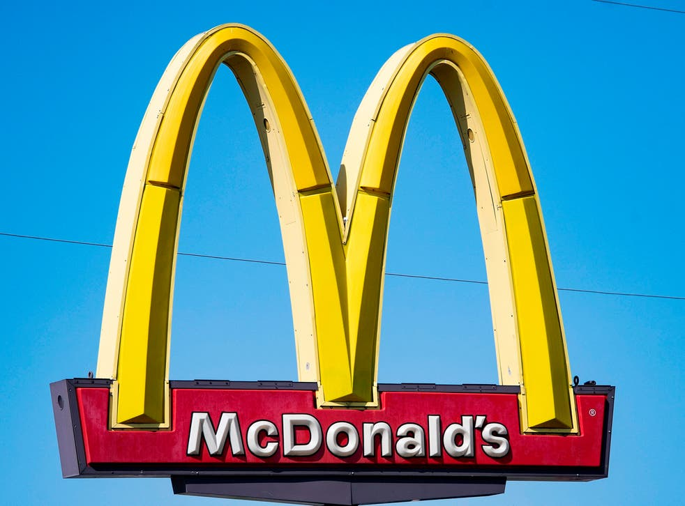 Police were called to an Orange County McDonald's over the incident