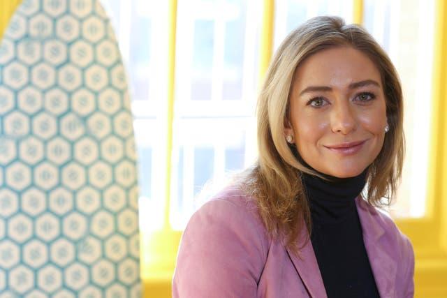<p>La fundadora y directora ejecutiva de Bumble, Whitney Wolfe Herd, sentada para un retrato en el distrito de Manhattan de la ciudad de Nueva York, EE. UU., 31 de enero de 2019. </p>