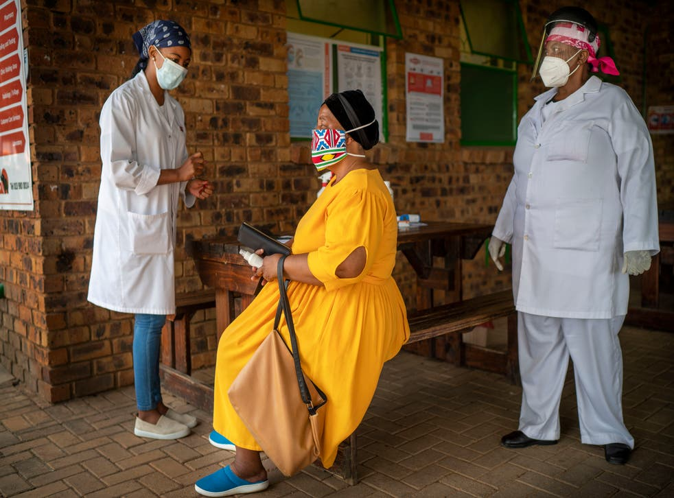 APTOPIX South Africa Virus Outbreak Vaccine