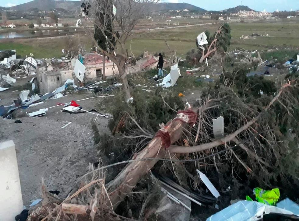 Turkey Bad Weather