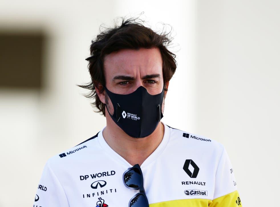 F1 driver Fernando Alonso