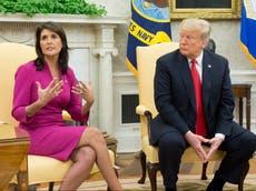 """Nikki Haley, aliada de Trump, se vuelve contra él durante el juicio político: """"No deberíamos haberlo seguido"""""""
