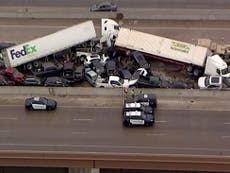 Fort Worth: Nurse crawled out of deadly 1.5-mile Texas pile-up and went to work