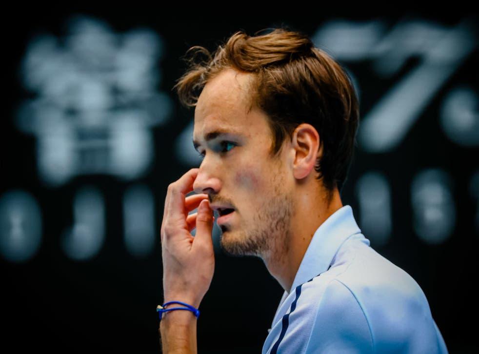 Medvedev overcame Krajinovic in the third round in Melbourne