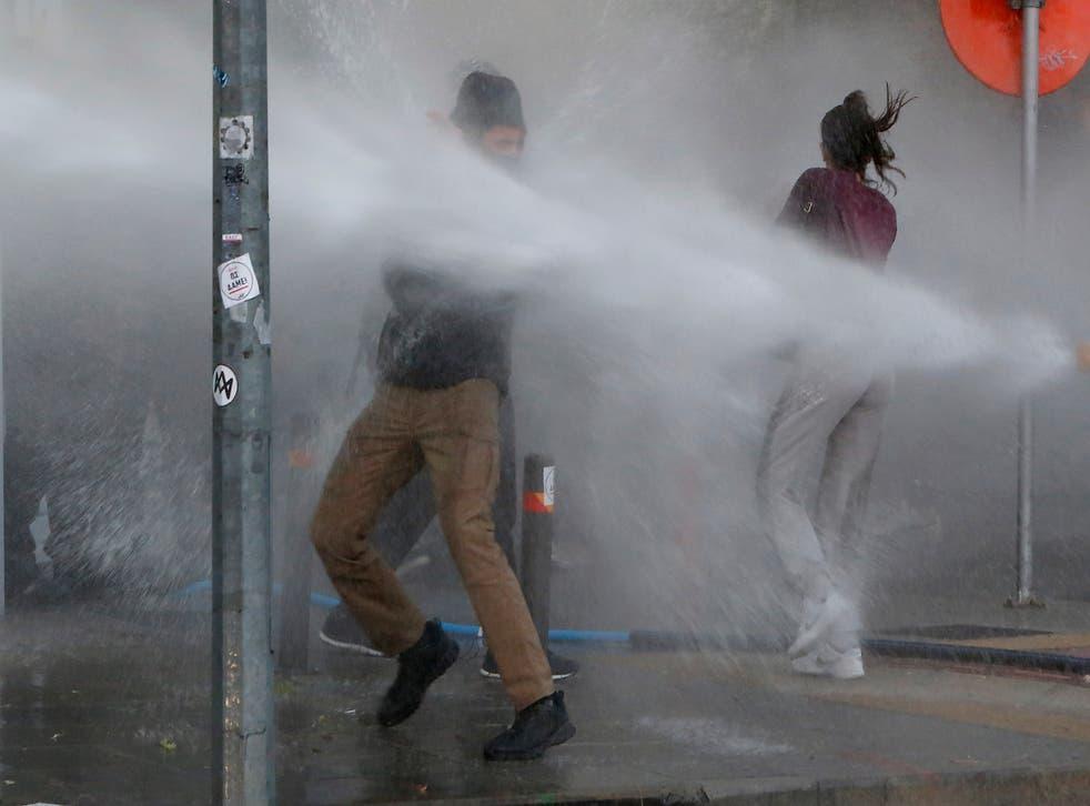 Virus Outbreak Cyprus Protest
