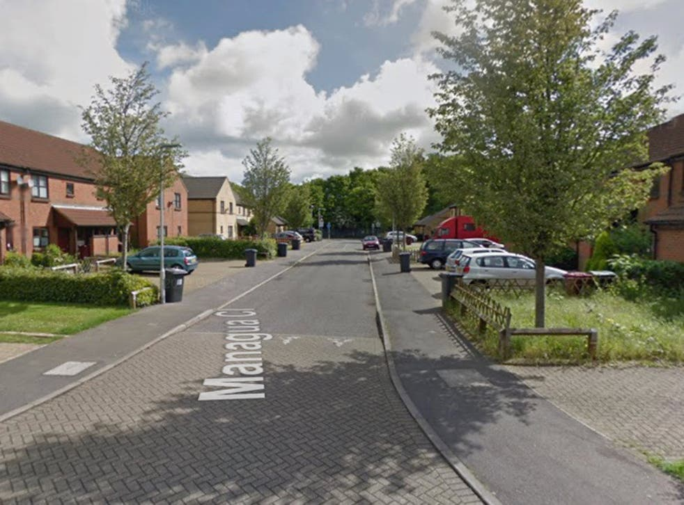 Thames Valley Police said officers were called to Managua Close in Caversham just before 1am on Sunday