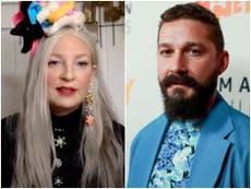 """Sia afirma que Shia LaBeouf le pidió que se casara con él y """"llevara una vida sobria"""""""