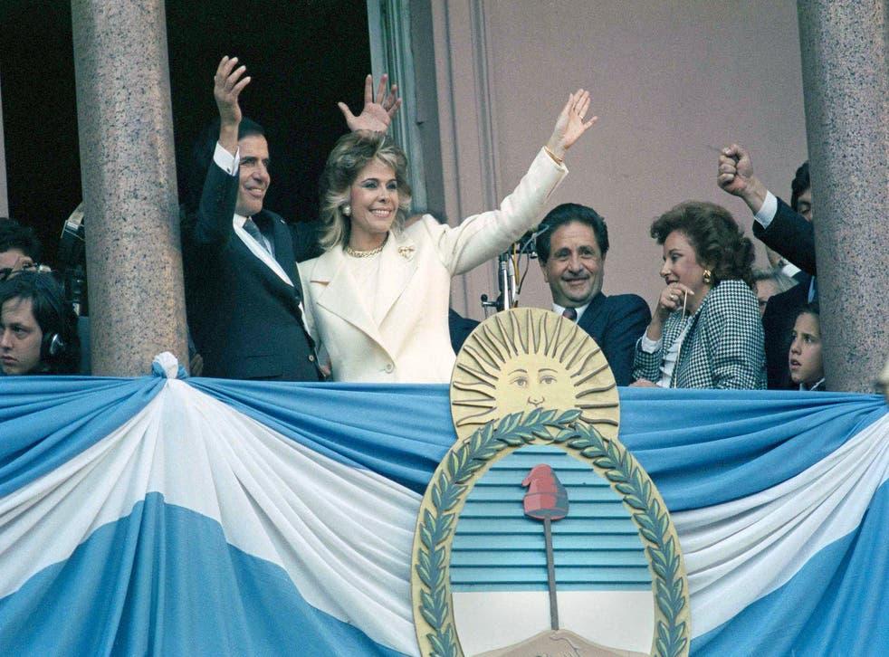 Argentina Obit Menem