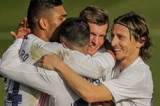 LaLiga: Real Madrid vence cómodamente al Valencia y pone presión sobre el Atlético