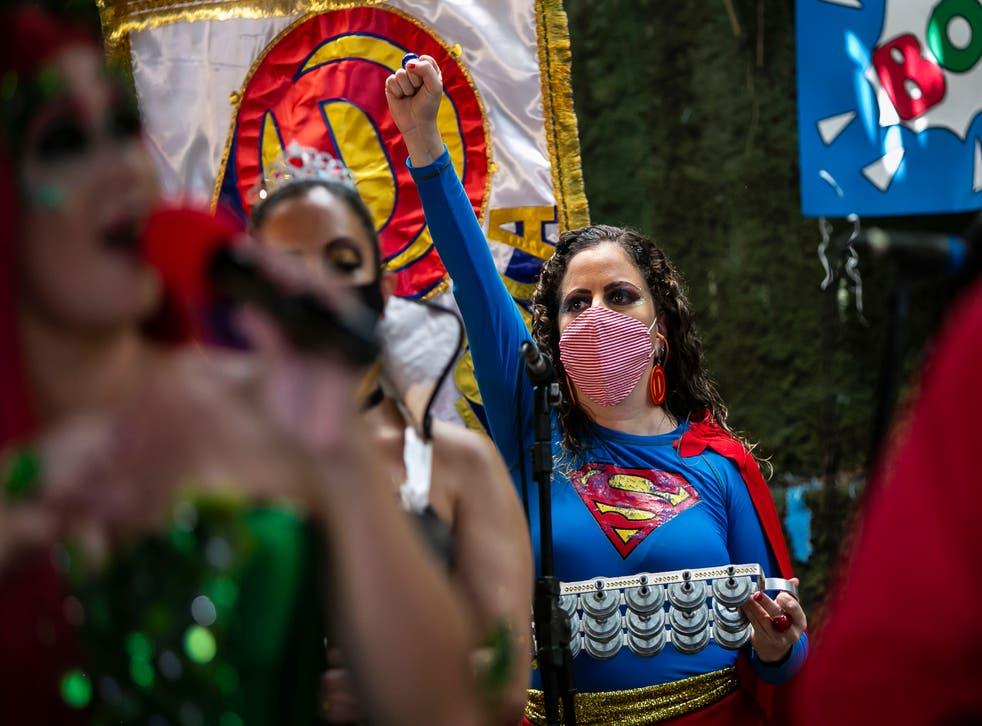Virus Outbreak Brazil Carnival