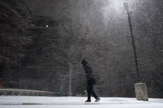 Power cut across Texas as snow, ice blanket southern Plains