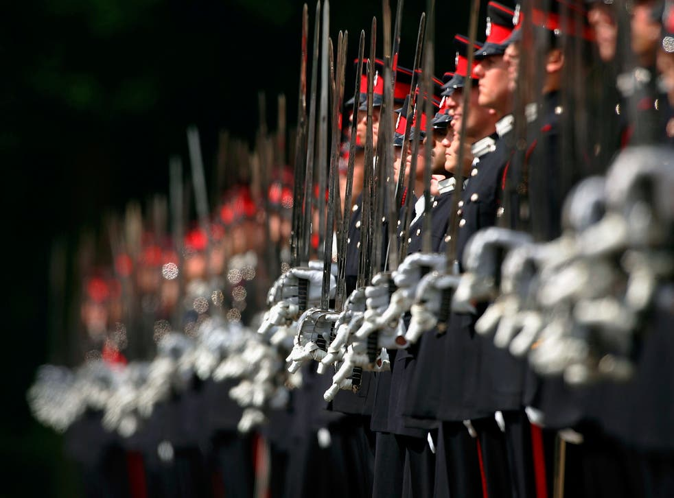 <p>Some of those thrown out of the army for their sexuality were even given prison sentences </p>