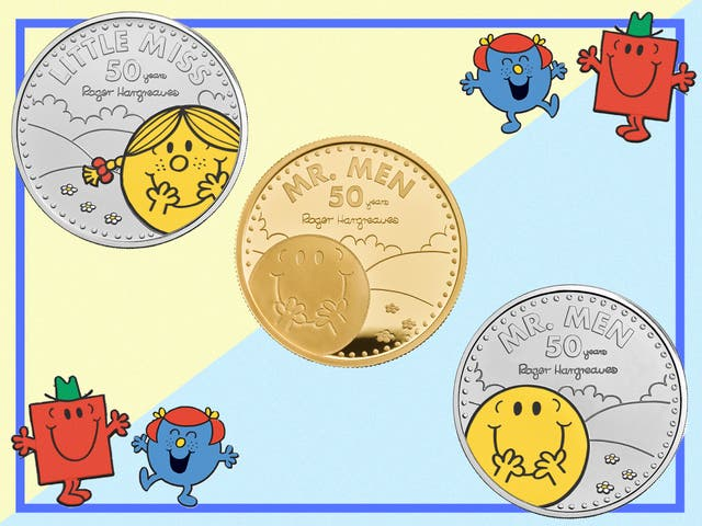 <p>Make your very own Mr. Grumpy a truly Mr. Happy with one of these commemorative coins</p>
