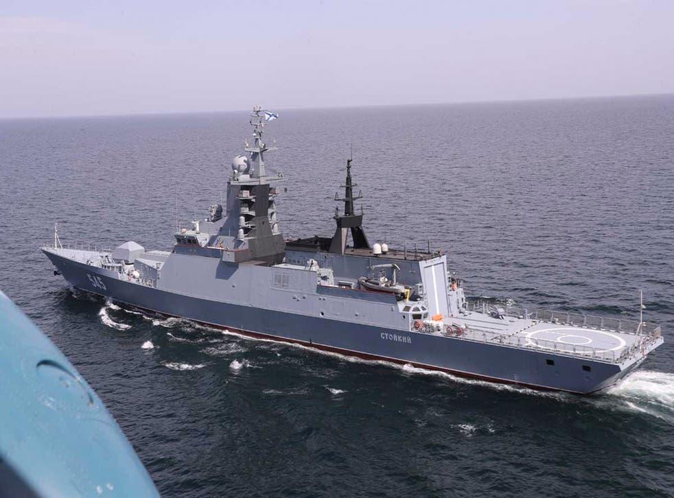 Iran Russia Drill