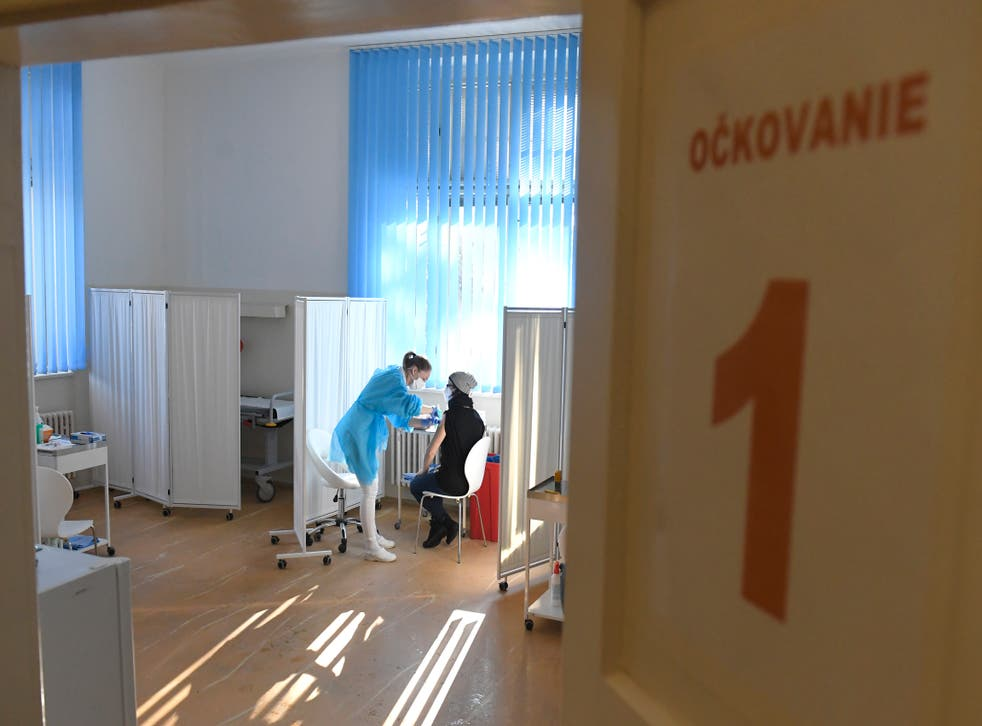 Slovakia Teachers Vaccination