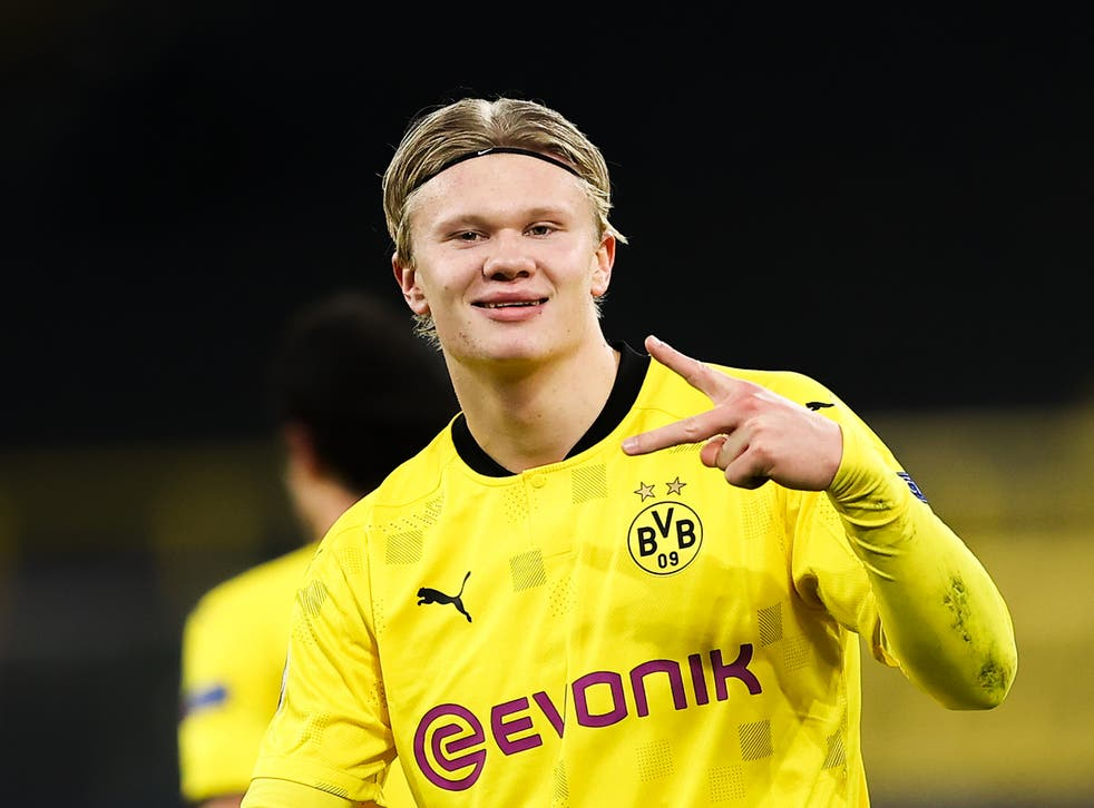 Where next for Erling Haaland? Dortmund's Champions League run could help  decide | The Independent
