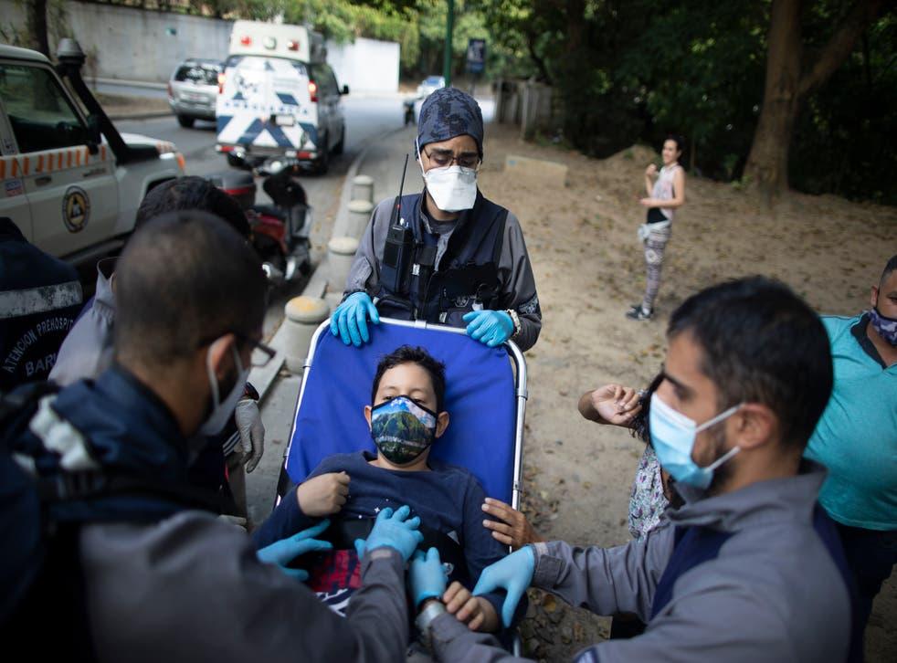 Venezuela Volunteer Paramedics