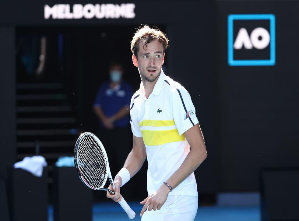 Daniil Medvedev is into the semi-finals in Melbourne