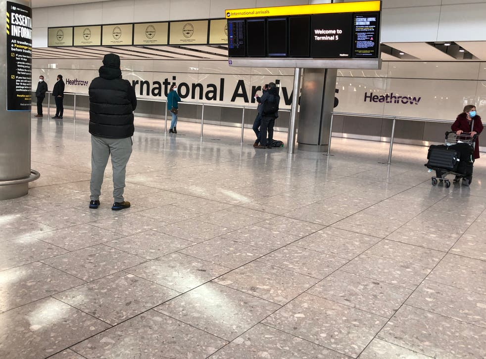 Space age: Arrivals area at Heathrow Terminal 5