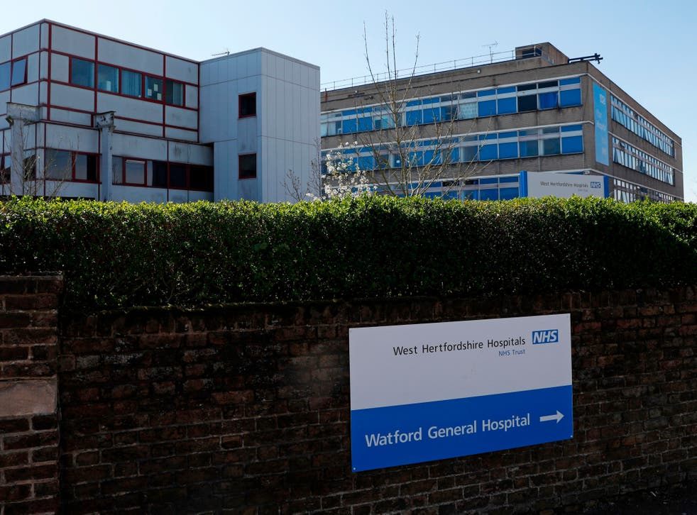 <p>Watford General Hospital is one of three hospitals run by West Herts</p>