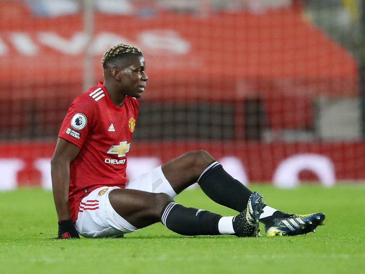 Injured Manchester United trio not ready to return as Paul Pogba steps up recovery