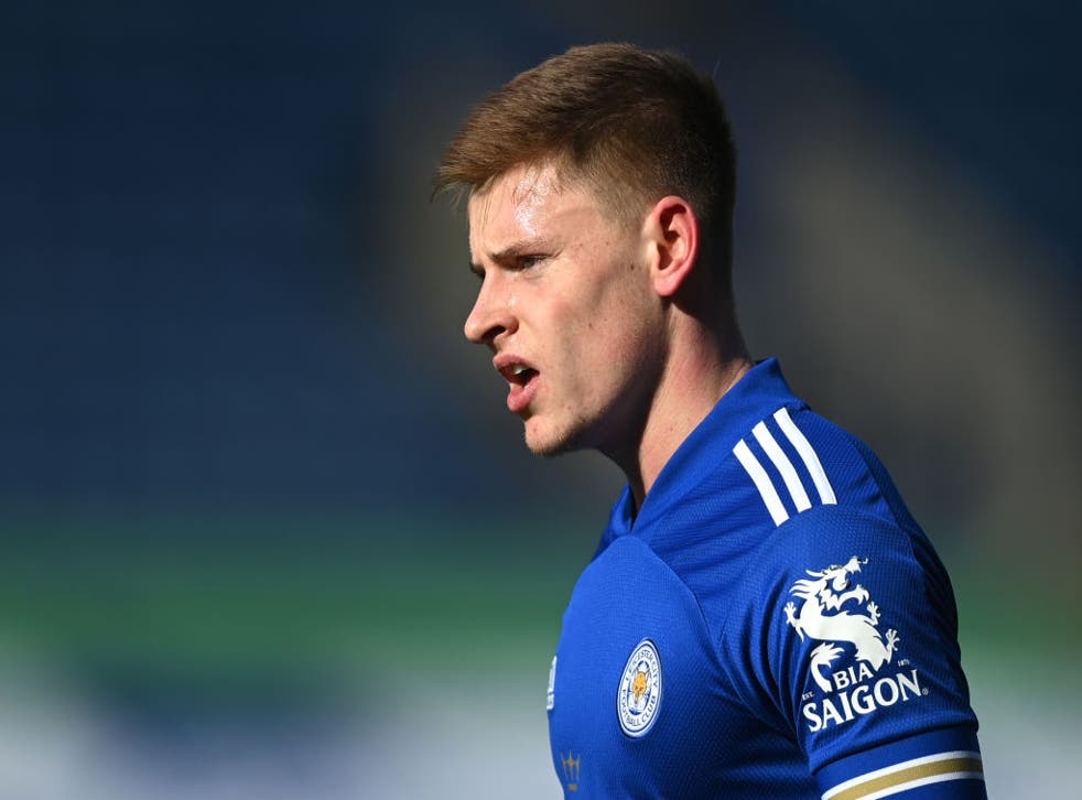 Harvey Barnes of Leicester