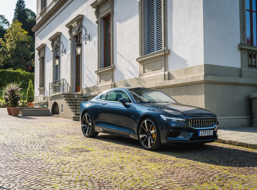 <p>The badging is discreet to the point of invisibility, with the nice simple Polestar logo rendered in body colour</p>