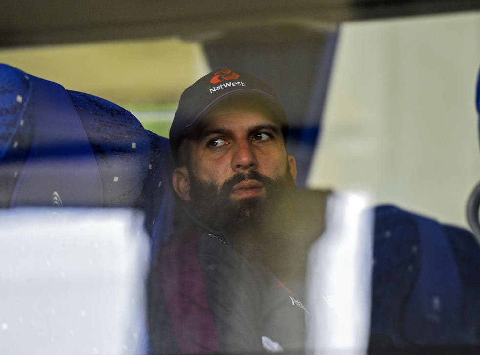 Moeen Ali will begin a pre-determined rest period