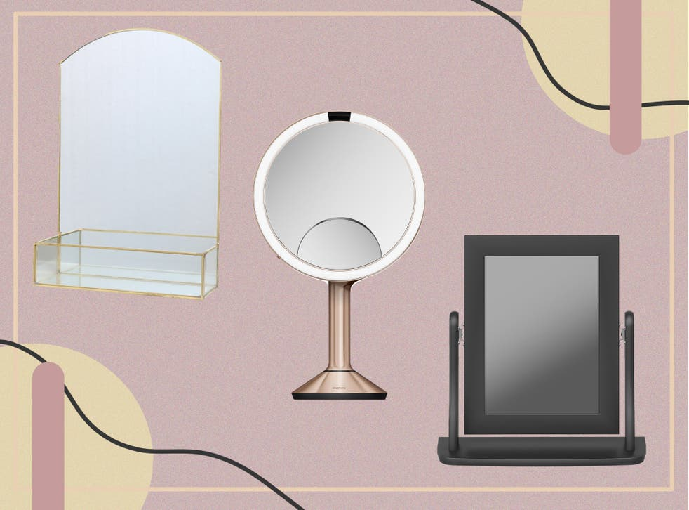 <p>Create salon quality styles at home with these stunning dressing table mirrors</p>