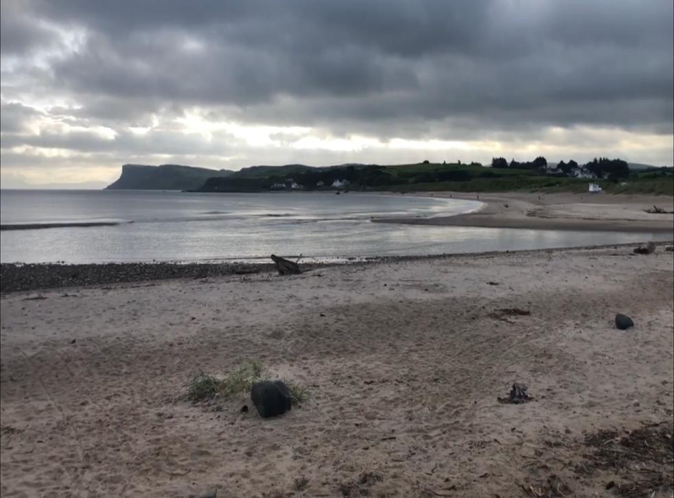 Moody greys: Even under cloud, Ballycastle is beautiful