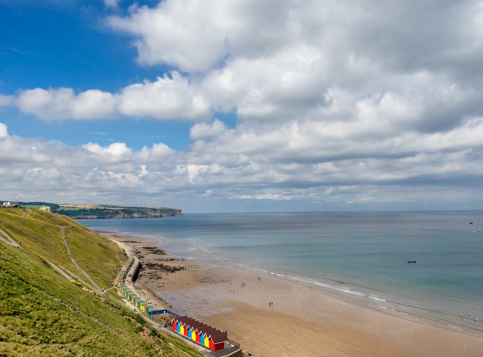 <p>Whitby beach could be on the menu</p>