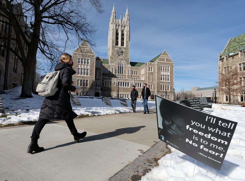 Racial Injustice Boston College