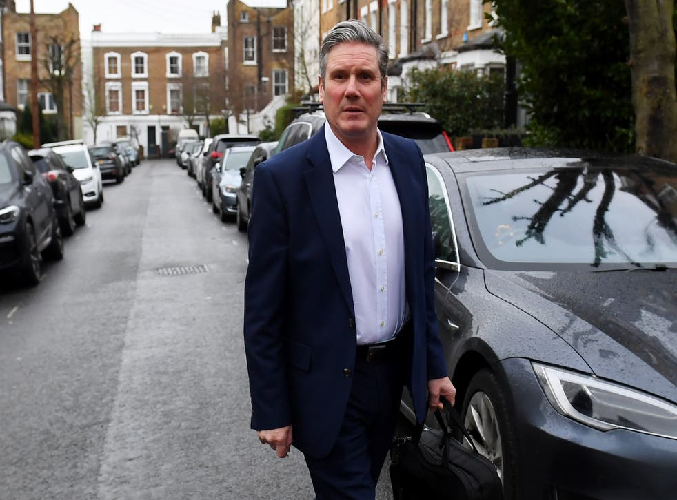 <p>Keir Starmer sets off to make his big speech on the economy</p>
