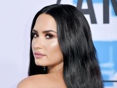 """Demi Lovato dice que está """"sobria en California"""" después de una sobredosis de 2018"""