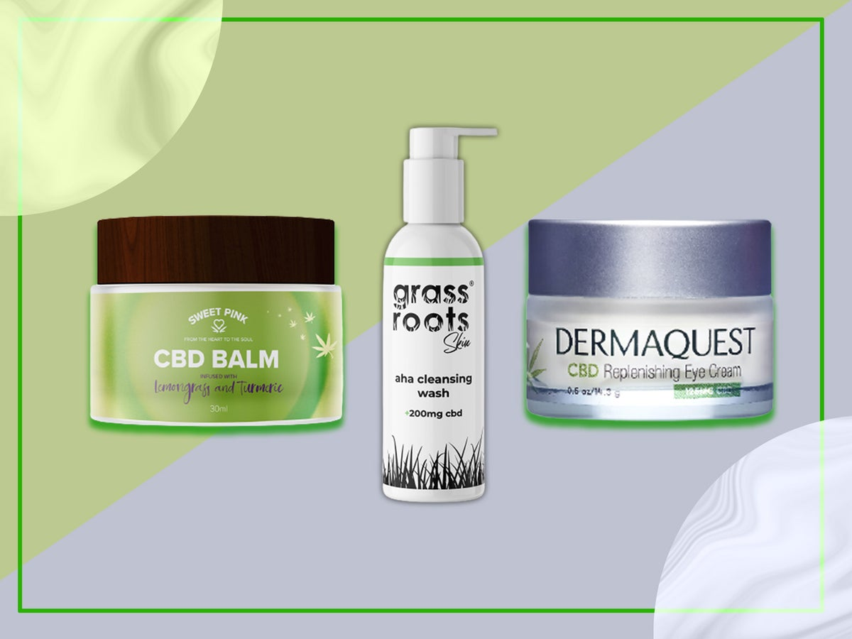Best CBD infused skincare products: Oils to serums | The Independent