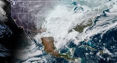 Clima de EE.UU.: las imágenes de satélite muestran el 73% del país cubierto de nieve