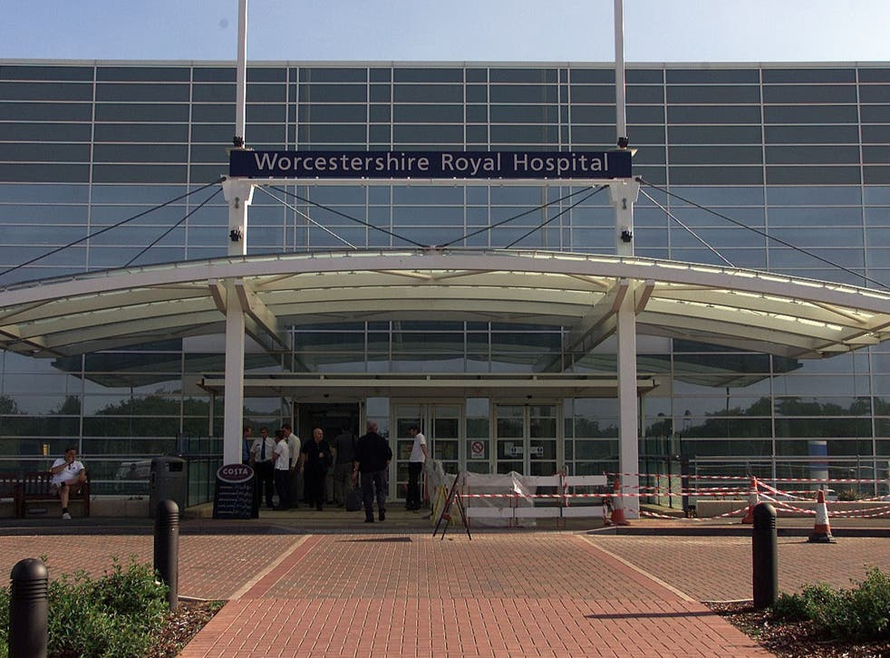<p>Insiders raised fears about care at Worcestershire Royal Hospital </p>