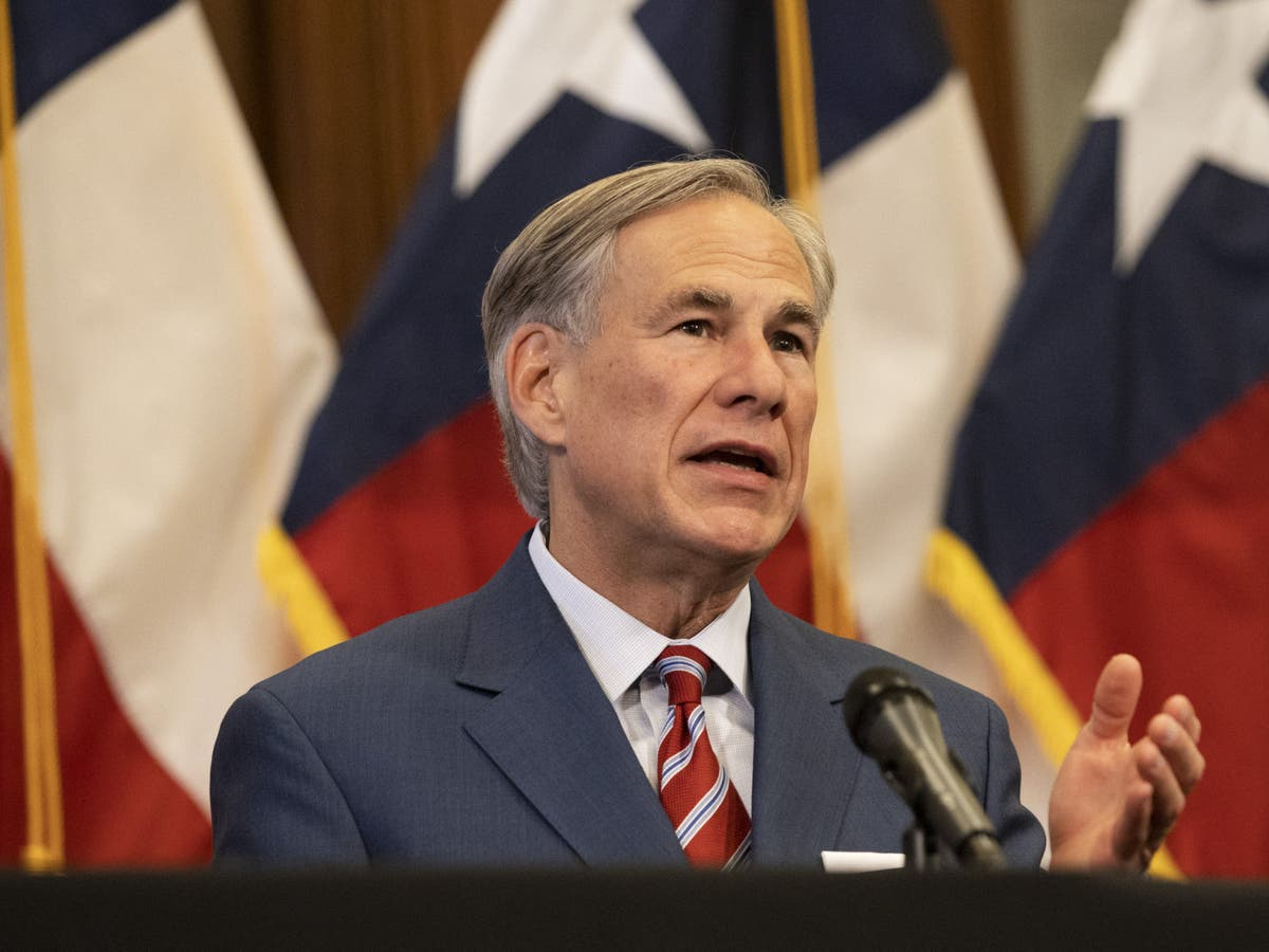Texas governor blames Covid spread on undocumented immigrants, while criticising Biden's 'Neanderthal' comment - independent