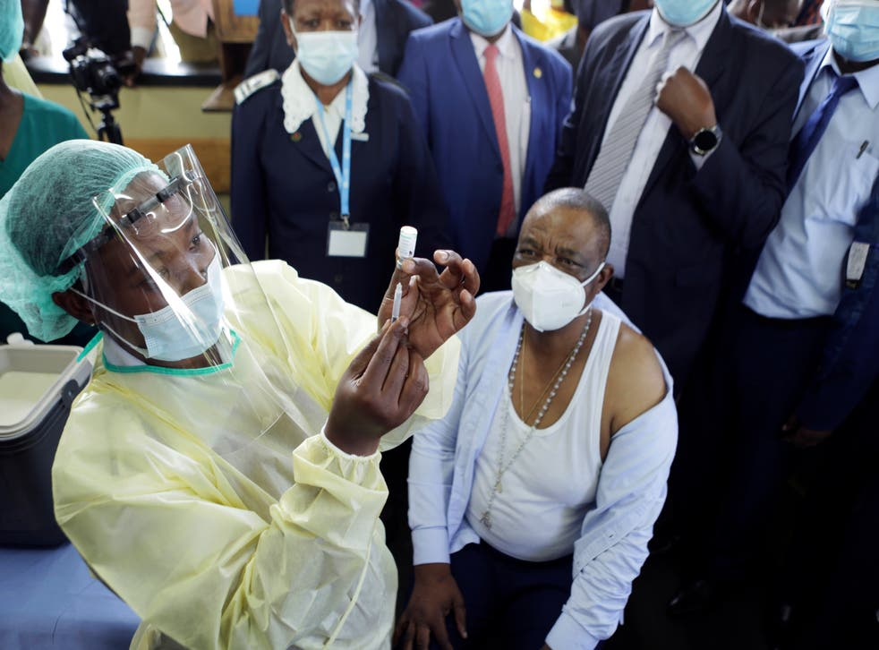 Virus Outbreak Zimbabwe China Vaccine